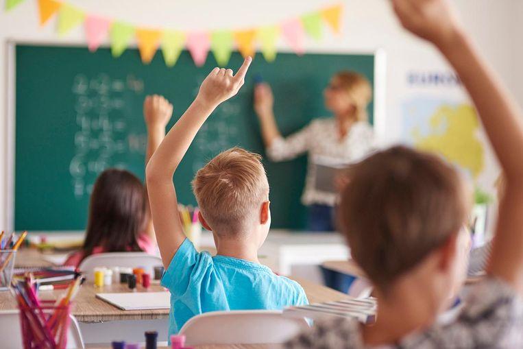 Vlaamse leerlingen uit het vierde leerjaar zijn wereldtop als het op wiskunde aankomt. Maar de absolute top is maar voor een beperkte groep weggelegd. Beeld Thinkstock