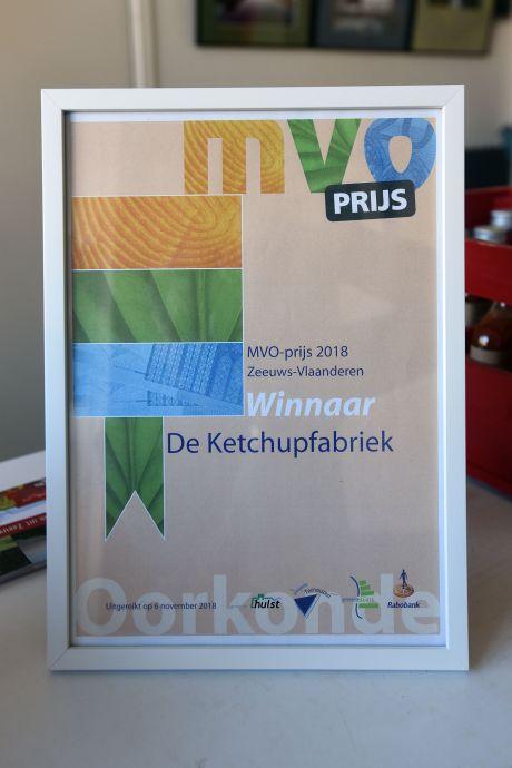 ZB heeft een prijs voor de duurzaamste onderneming van Zeeuws-Vlaanderen