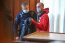 Plantenexpert Olivier Vanderborght werd meteen geboeid en naar de gevangenis gestuurd.