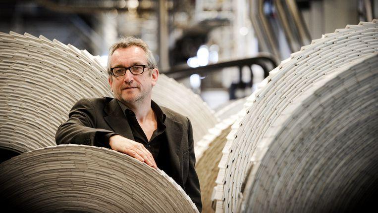 Hoofdredacteur/directeur Peter Vandermeersch van NRC Media. Beeld ANP