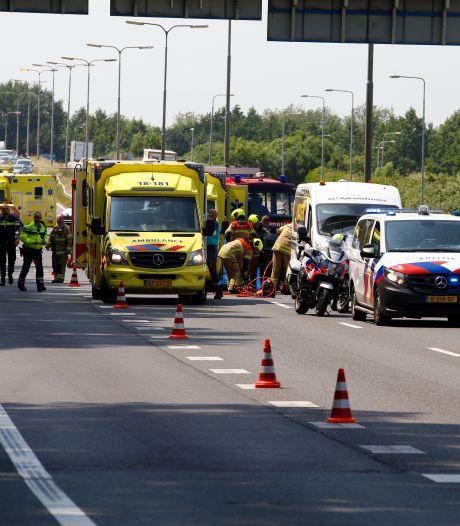 Man (83) overlijdt en zijn vrouw (84) raakt zwaargewond bij ongeval op de N3