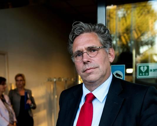 Lijsttrekker Cees Bos van Stadsbelang Utrecht.
