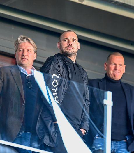 Onderhandelingen tussen Wesley Sneijder en FC Den Bosch op laag pitje: 'Altijd maar die 1 euro, ons plan is veel meer dan dat'