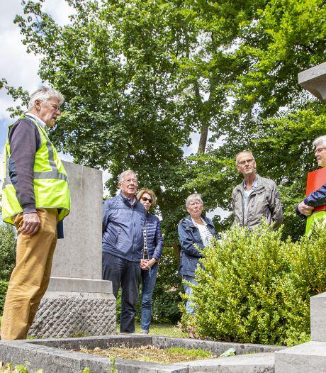 Markante graven in Wierden beschermd: 'Belangrijk dat verhalen overledenen bewaard blijven'