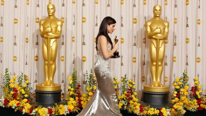 """L'année dernière, Sandra Bullock s'était vue décerner l'Oscar de la meilleure actrice pour son rôle dans """"The Blind Side""""."""
