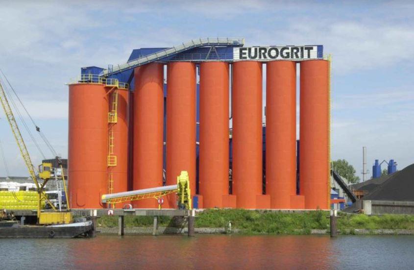 Het pand van Eurogrit.