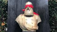 Activisten blinddoeken Leopold II