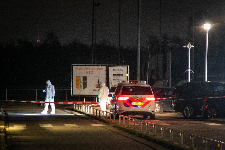 Politie doet uitgebreid onderzoek op de Escapade. Beeld ANP