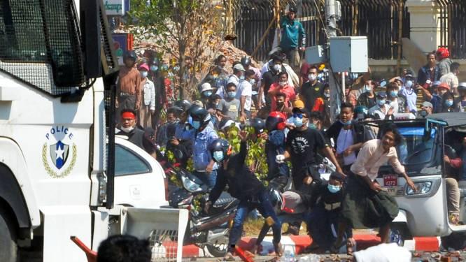 Demonstranten in Myanmar ondanks geweld opnieuw de straat op