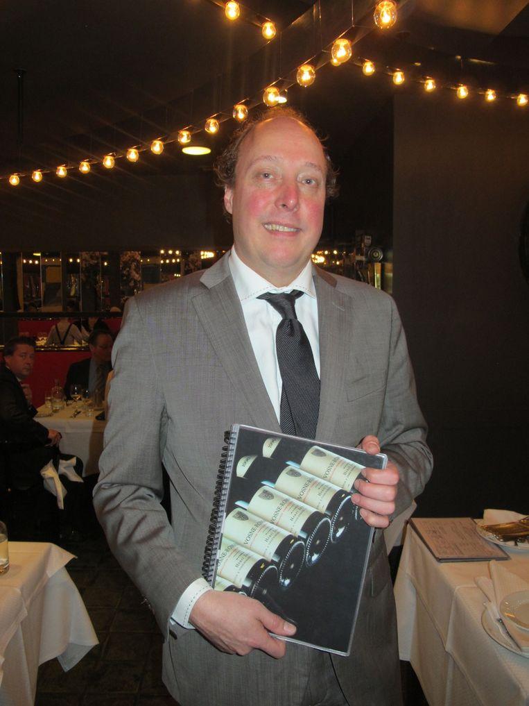 De 'nieuwe' bekende man van Le Garage: Erwin Walthaus. Beeld Frank Kromer