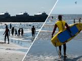 In zee zwemmen blijft gevaarlijk: 'Kans op onderkoeling'