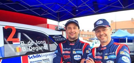 Bob de Jong moet tijdens recordjacht in 'Nacht van Achtmaal' afrekenen met complete nationale rallytop