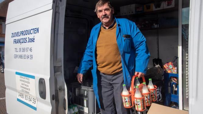 """Melkboer José rijdt laatste ronde: """"Mijn klanten werden na 37 jaar vrienden"""""""
