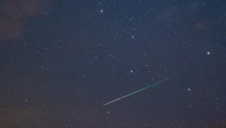 Vallende ster. Beeld AFP