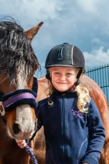 Jeffrey duikt ijskoud water in om spartelende pony van Lexi (5) te redden: 'Niemand kon hem tegenhouden'