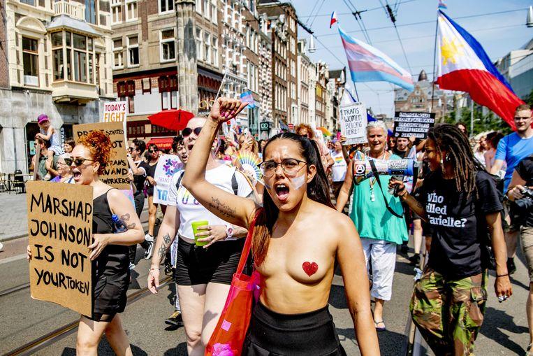 Pride Walk. Beeld ANP