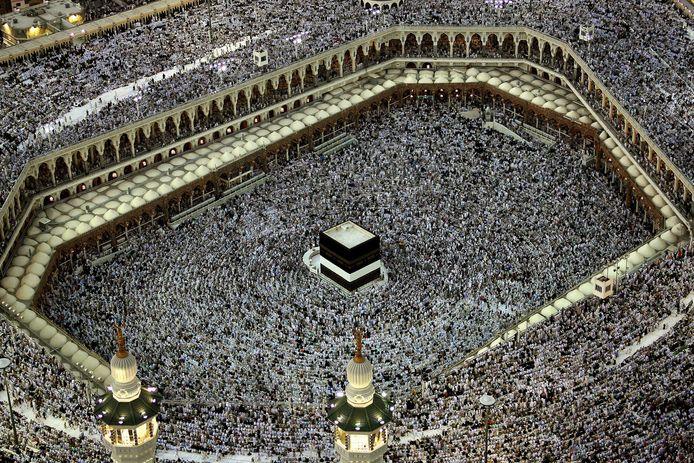 De Grote Moskee in Mekka.