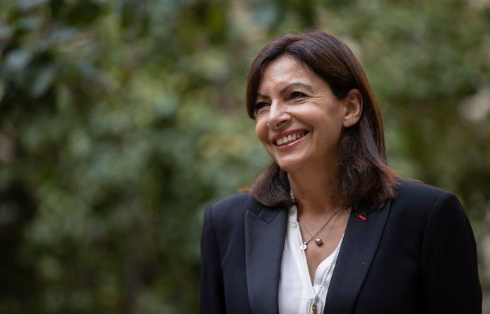 Anne Hidalgo (PS), burgemeester van Parijs en kandidaat voor de Franse presidentsverkiezingen.