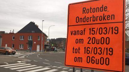 Nieuw wegdek voor rotonde Geuzenhoek