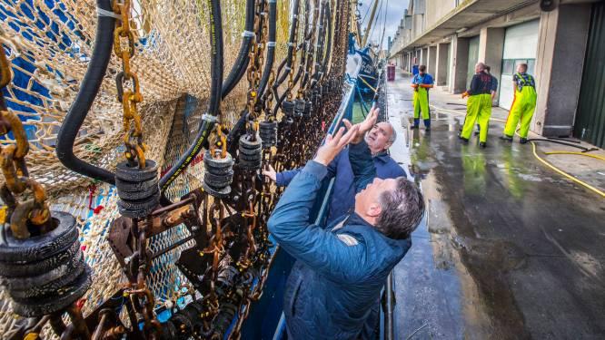 Alternatief voor pulsvissen: geen stroom, maar waterspray om platvis te vangen