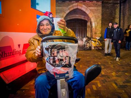 Haagse Soepbus gered door een hausse aan gulle giften