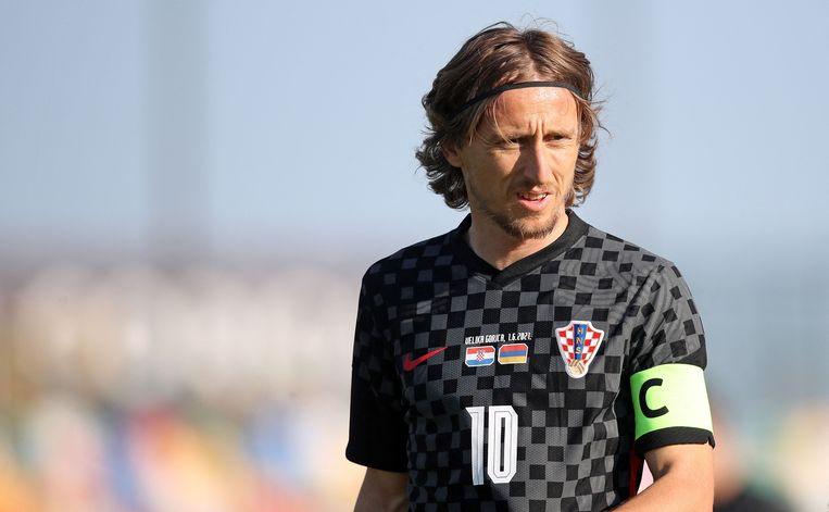 Luka Modric, 35 jaar, 138 interlands voor Kroatië, 17 doelpunten. Beeld AFP