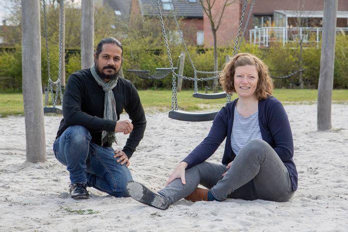 Sameer Srivastva en Karolien Stevens