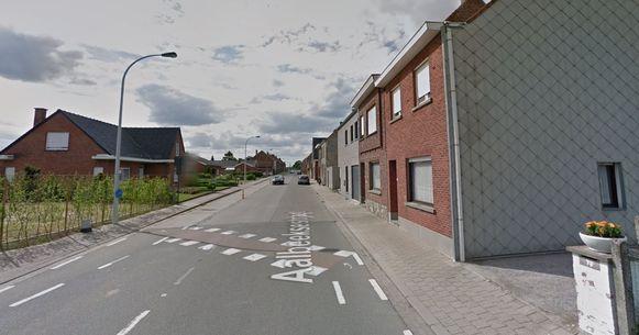 De Aalbeeksestraat maakt wel deel uit van de transportroute.
