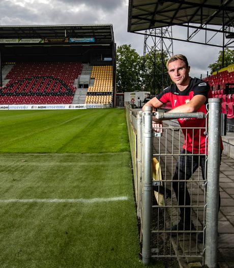 Martijn Berden tekent bij: aanvaller twee jaar langer bij GA Eagles