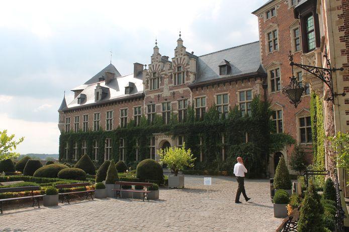 De binnentuin van het Kasteel van Gaasbeek