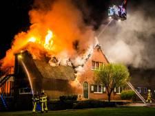 Verslavingskliniek Leger des Heils in Ugchelen gaat in vlammen op