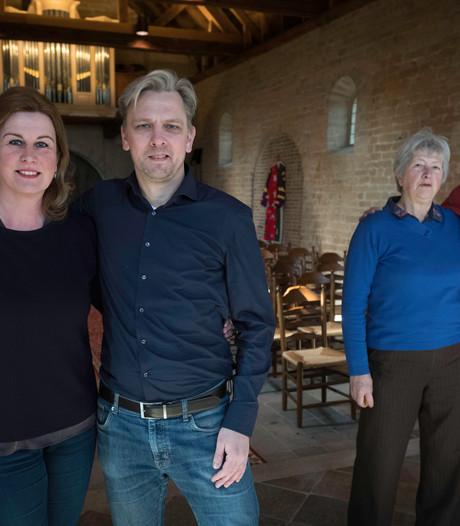 Nieuwe kosters voor kerkje in Ressen