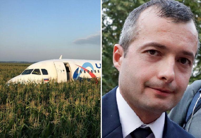 Kapitein Damir Joesoepov besliste een noodlanding te maken nadat zowel de linker- als de rechtermotor niet meer werkte.