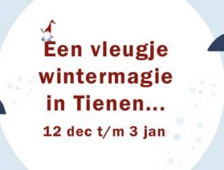 Toch een vleugje wintermagie van 12 december tot 3 januari