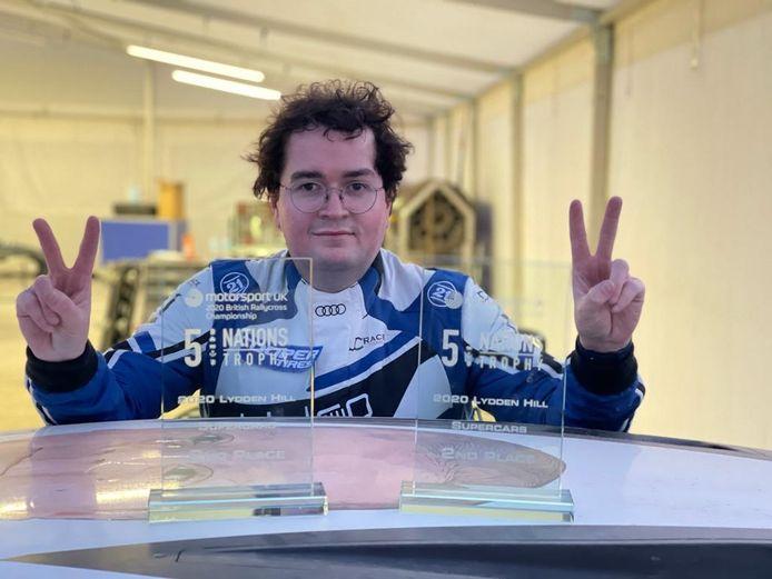 Enzo Ide presteerde eind vorig seizoen al sterk in het Britse rallycross en start dit jaar in het WK rallycross.