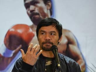 Boksheld Manny Pacquiao wil president van de Filipijnen worden