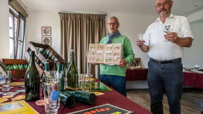 Verzamelaars Francois (61) en Willy (82) organiseren tentoonstelling over Hamse brouwerijen