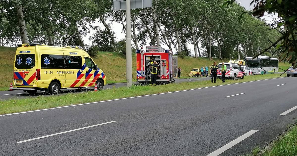 Bestuurder gewond bij ongeval in Middelburg.