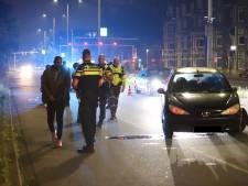 Twee personen aangehouden na verkeersongeval in Den Haag