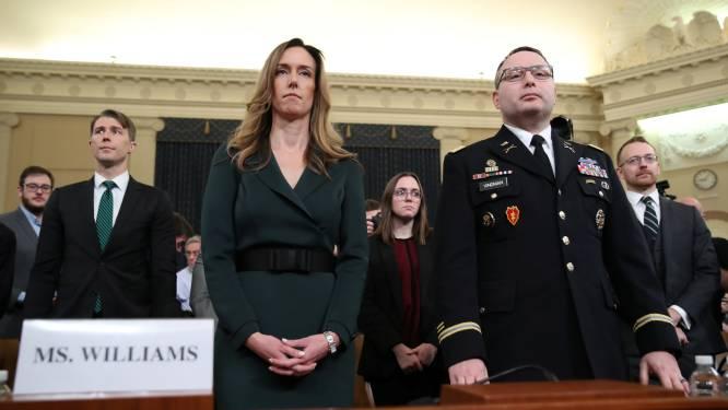 """""""Ongewoon en ongepast"""": kroongetuigen spreken over Trumps telefoontje naar Oekraïense president"""