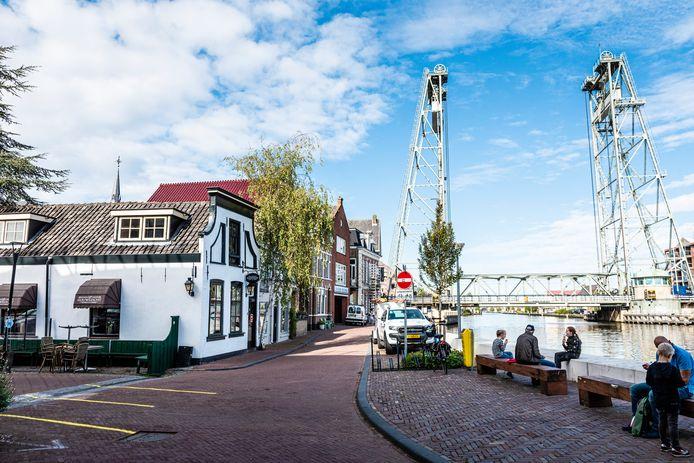 De Barendstraat in Boskoop waar René van der Hoeven (52) werd mishandeld.