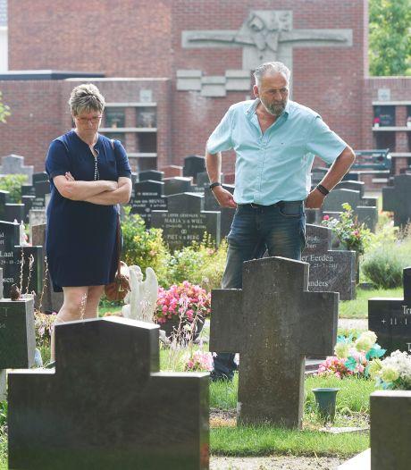 Graf van bij brand omgekomen moeder en vier kinderen in Veghel blijft dankzij geldinzameling