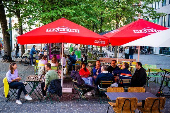 De Dageraadplaats in Antwerpen