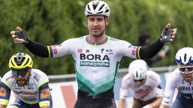 """Sagan snelt in Romandië naar tweede zege van het seizoen: """"Terug? Ben nooit weg geweest"""""""