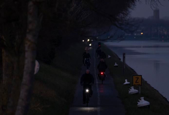 Het Jaagpad tussen Middelburg en Vlissingen.
