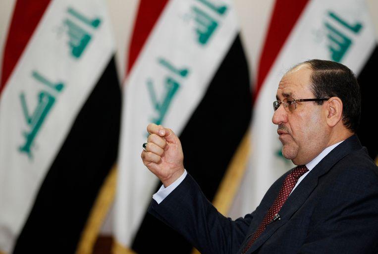 Nuri al-Maliki in januari van dit jaar. Beeld REUTERS