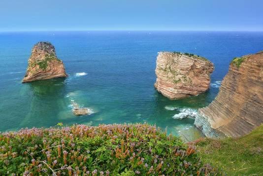 Hendaye, Pays basque, près de la frontière espagnole