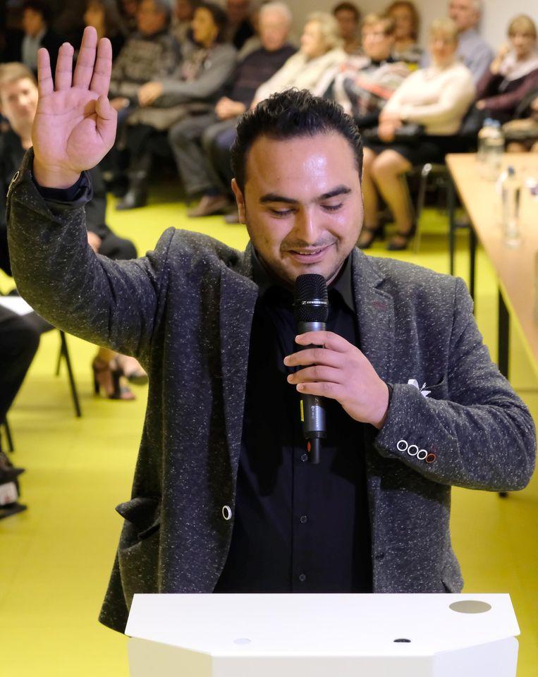 Gemeenteraadslid Yunus Sahinbay. Beeld Ville de Herstal