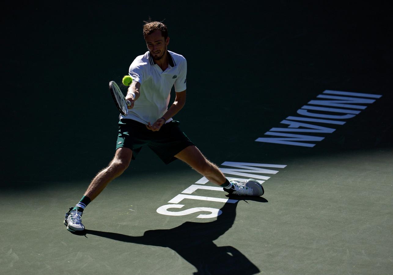Daniil Medvedev in Indian Wells.