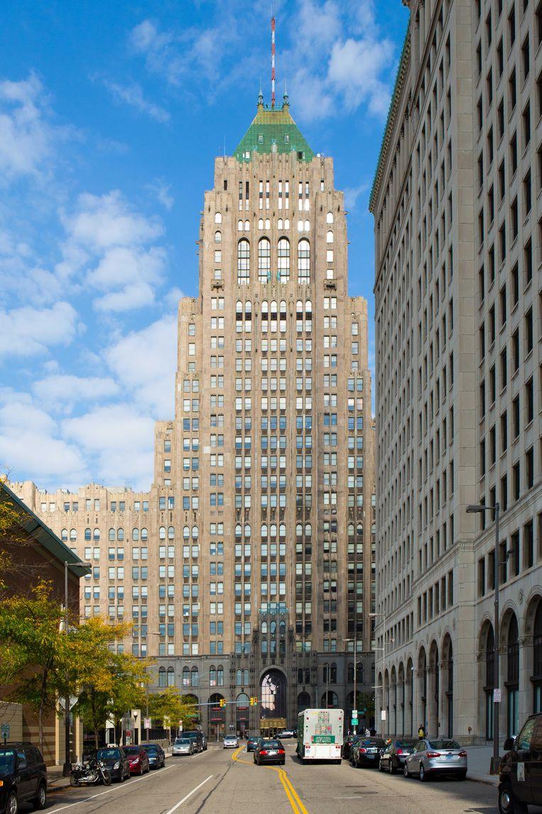 De iconische en voor iedereen vrij toegankelijke Fisher Building. Beeld Alamy Stock Photo